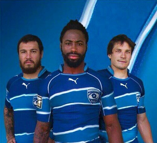 Maillot Montpellier Hérault Rugby 2014-2015